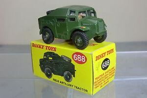 Dinky Toys Modèle No.688 Artillery Field Tractor Mib