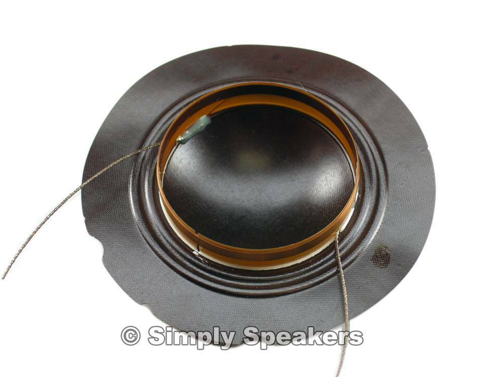 Ev S200 de altavoces de fábrica Diafragma Diafragma Diafragma 89753a Electro Voice Tweeter pieza de reparación f65a16