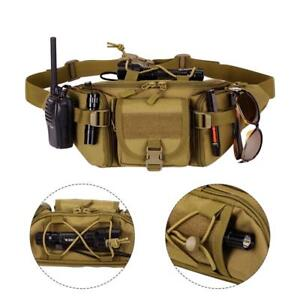 Tactical-Waist-Bag-Pouch-Military-Belt-Pack-Outdoor-Camping-Hiking-Waterproof