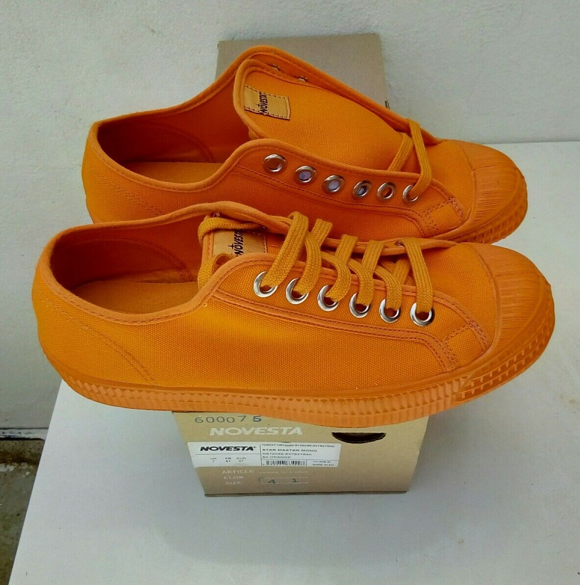 NOVESTA STAR MASTER MONO ORANGE 41 EU NEW OG BOX new nuevo
