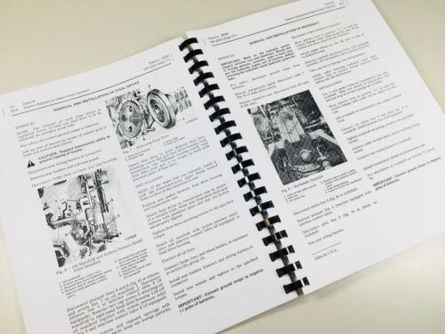 Service Manuell für John Deere 2040 Traktor Reparatur Technisches Laden Buch