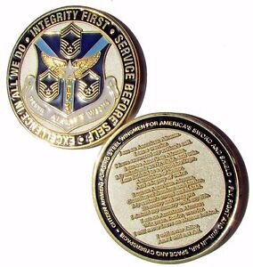 US-Air-Force-Top-3-Chief-Master-Sergeant-911th-Airlift-Wing-Challenge-Coin