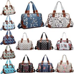 Womens Overnight Travel Weekend Hand Luggage Maternity Hospital Tote Handbag Bag