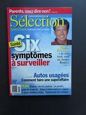 """Selection Reader's Digest Magazine Janvier 2003 """"Santé Symptomes ,Pierce Brosnan"""