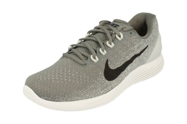 54daf0732ca47 Nike Lunarglide 9 IX Cool Grey Black Men Running Shoes Trainers ...