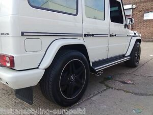 Details about Mercedes G-Wagon Class G63 4x4 Custom Build Stainless Steel  Exhaust Cat Back