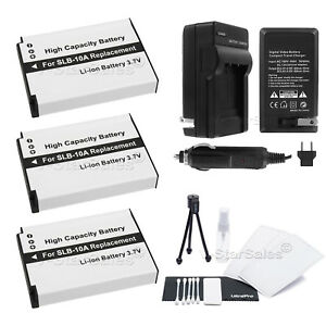 3x-SLB-10A-Battery-Charger-for-Samsung-HMX-U100-WB150F-WB250F-WB500