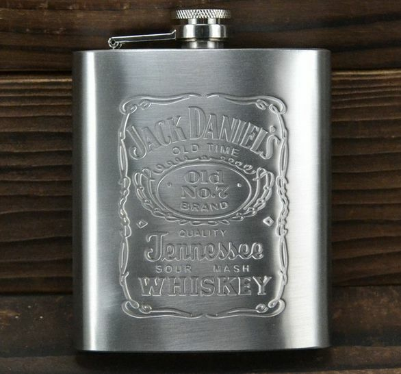 HOT FASHION portable Engraved 7oz Stainless Steel HIP FLASK PERSONALIZED Flasks