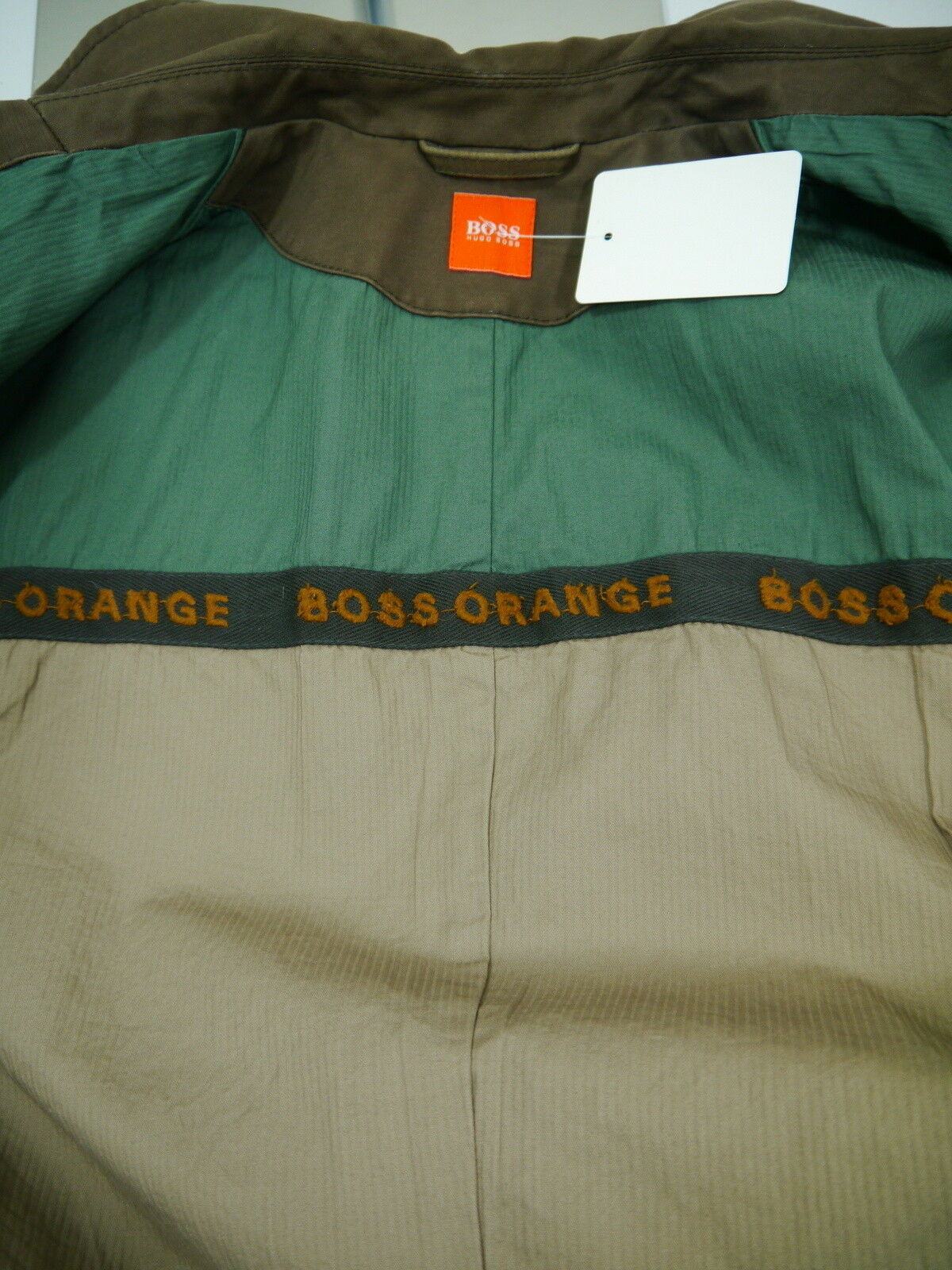 Lässiges HUGO BOSS BOSS BOSS Orange Hr.Sakko BW braun Used Optik Odlon4 Gr.48 NP498,-  | Günstigen Preis