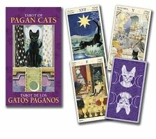 Tarot of Pagan Cats Mini Deck (Lo Scarabeo Mini-Deck)