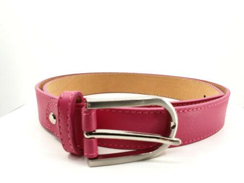 Per ogni outfit della adatti cintura in pelle in molti colori vivaci TG 85-100