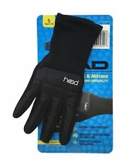 HEAD Premium Warmth Junior Hybrid Gloves Size S 4-6 Sensatec Touchscreen Black