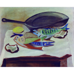 Nature morte aux poissons-P Picasso Print | eBay