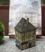Faller Spur HO 411 Spielwaren Geschäft Eckhaus Stadthaus gebaut + orig. Karton