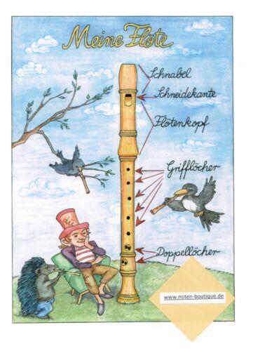 Blockflöte Noten Schule Spiel und Spaß mit der Bockflöte 1 Anfänger
