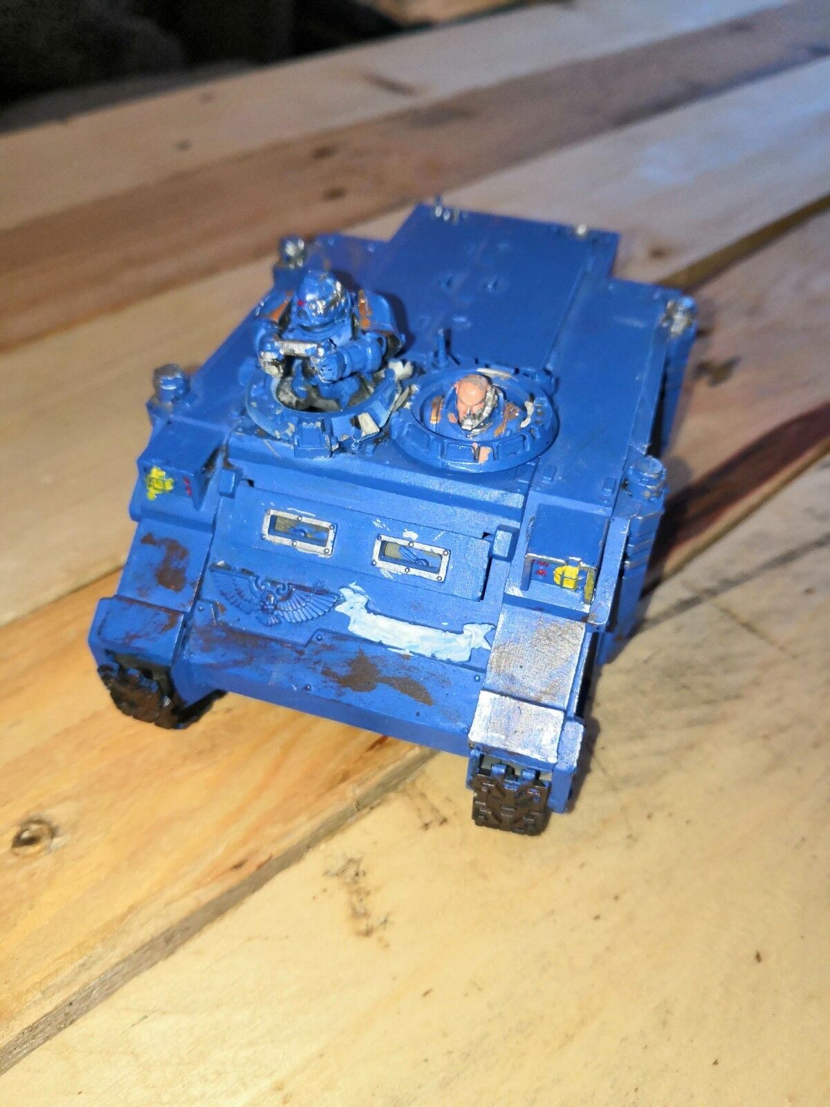 Games Workshop Warhammer 40k Space Marines Rhino Tank Transport Vehicle Marine