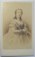 c1870 HENRIETTE OF AUSTRIA  QUEEN KING LEOPOLD 11 BELGIUM  NEURDEINCDV PORTRAIT