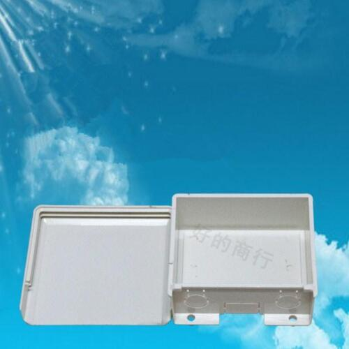 ABS Plastic Waterproof In/&Outdoor Junction POE Splitter Switch BOX 110x100x45mm