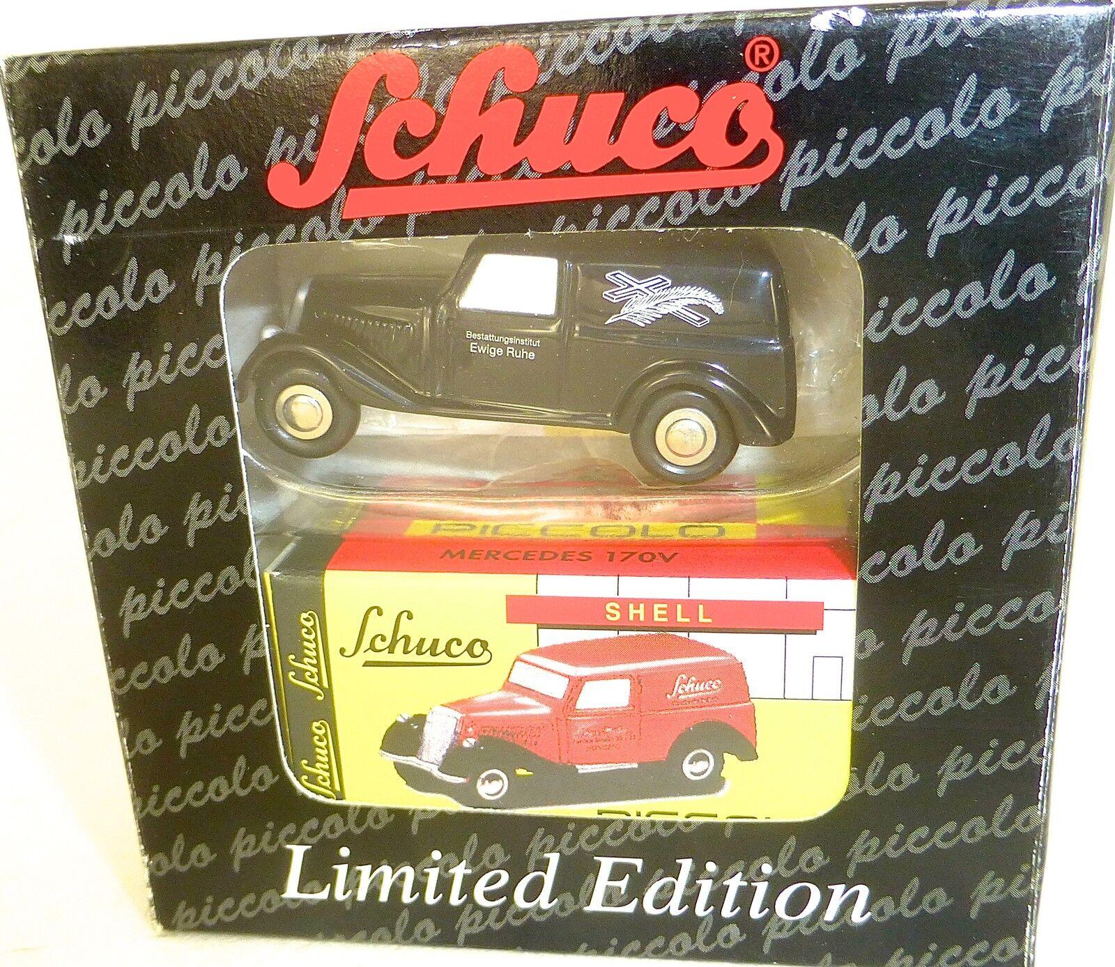 Mercedes Benz 170v Éternelle Calme Piccolo Piccolo Piccolo Schuco 01527 Emballage D'Origine Å 110e3d