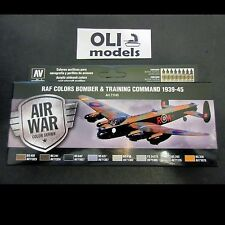 AIR WAR RAF Bomber & Training Air Command 1939-1945 Paint Set - Vallejo 71145
