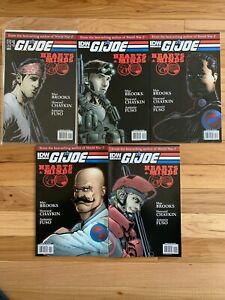 G.I. Joe Hearts & Minds (2010) IDW Comics #1-5 Complete - Great Gift 🎁