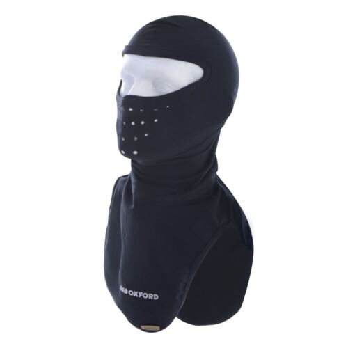 Oxford Deluxe Sculpted Shape Micro Fibre Balaclava For Motorcycle Motorbike