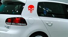 2x Punisher Auto Aufkleber Sticker Schrift Deutschland Fun PKW LKW Heckscheibe