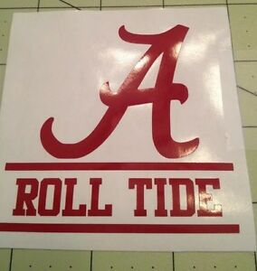 Alabama Roll Tide Decal For Your Yeti Rambler Colster Ebay