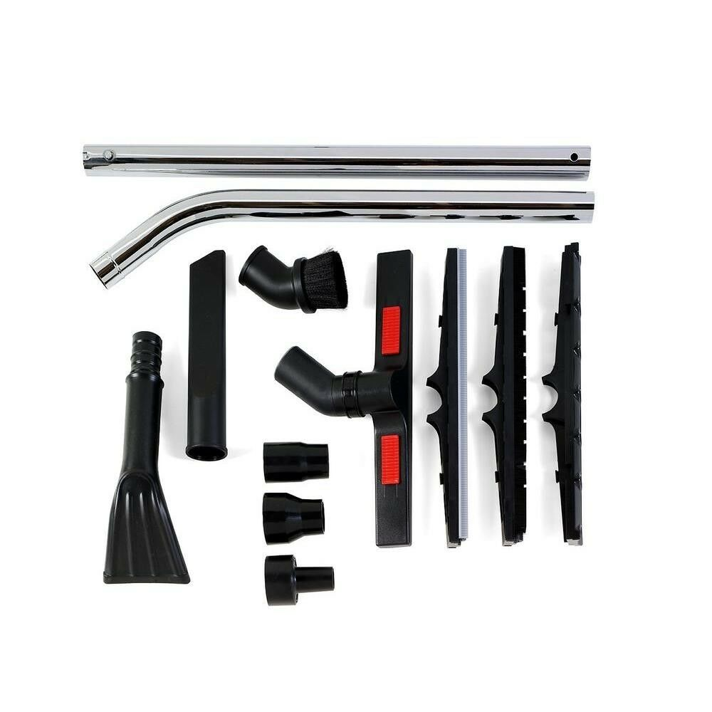 Heavy-Duty 12-Piece Cleaning Vacuum Accessory Kit for RIDGID Wet Dry Shop Vacs
