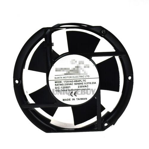 Cooling fan 17251A2-HBAPL-TC for SUNTA Double ball bearing 230V 0.13A 17CM 2Pin