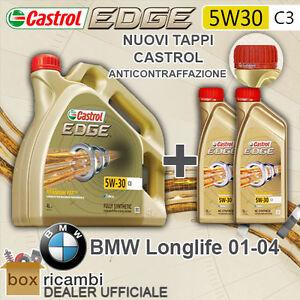 6 L LITRI OLIO MOTORE CASTROL EDGE 5W30 FST C3 BMW LONGLIFE 04 - CASTROL ITALIA