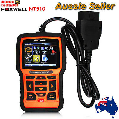 Foxwell NT510 All Systems OBD2 Professional Scanner Tool Engine ABS SRS Airbag
