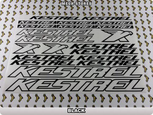"KESTREL Stickers Decals Bicycles Bikes BMX MTB Cycles /""DIFFERENT COLORS/"" 61U"