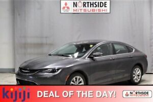 2015 Chrysler 200 C Navigation (GPS),  Leather,  Heated Seats,  Panoramic Roof,  Back-up Cam,  Bluetooth,