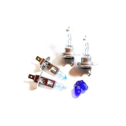 Ford Focus MK1 H1 H7 501 55w Tint Xenon HID High//Low//Side Headlight Bulbs Set
