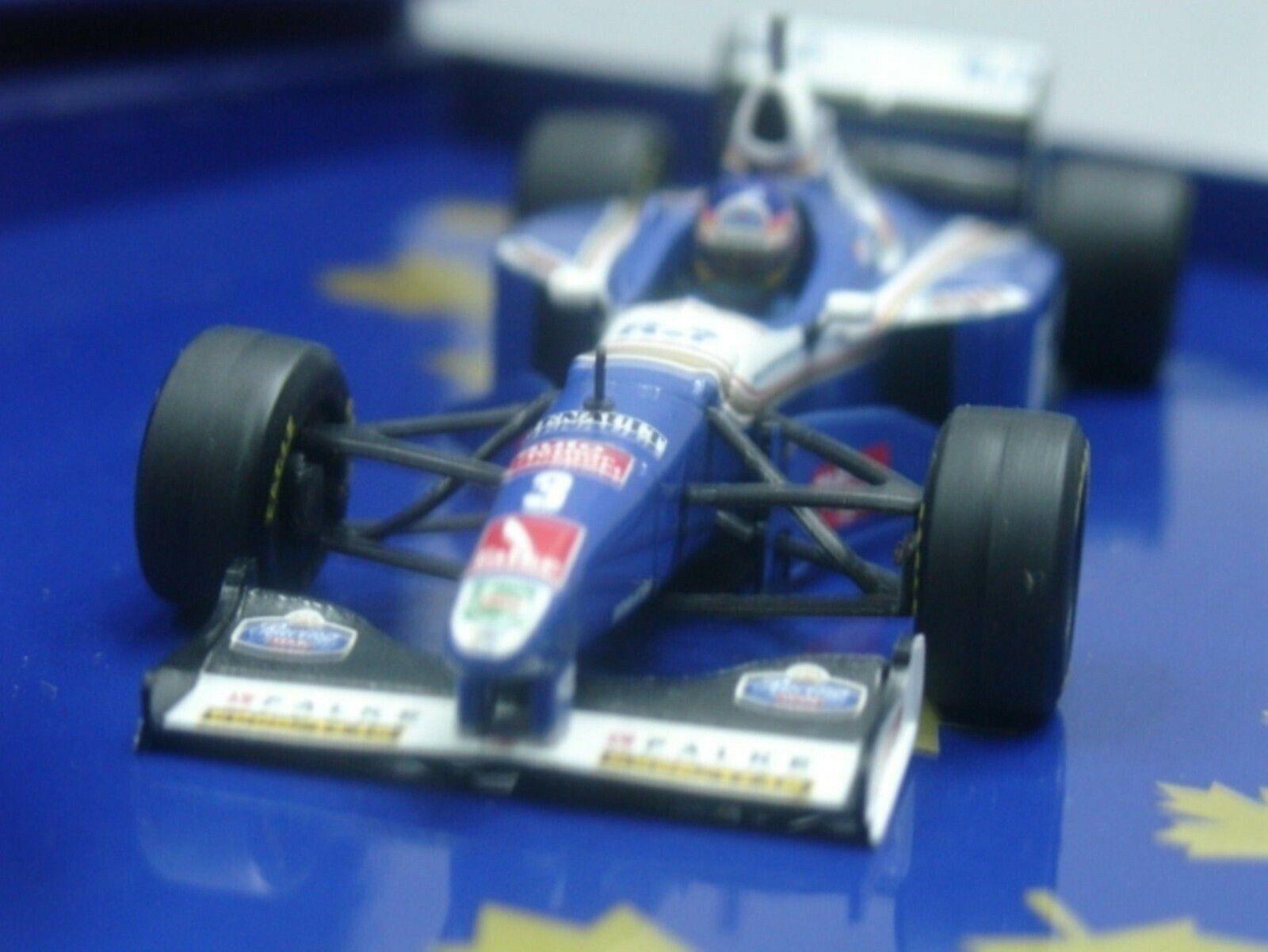 Wow extremadonnate raro Williams FW19 Villeneuve Hockenheim 1997 Caja 1 43 Minichamps