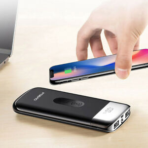 AU-Qi-Wireless-Charger-20000mAh-Power-Bank-Battery-For-iPhone-XS-XR-Samsung-S9