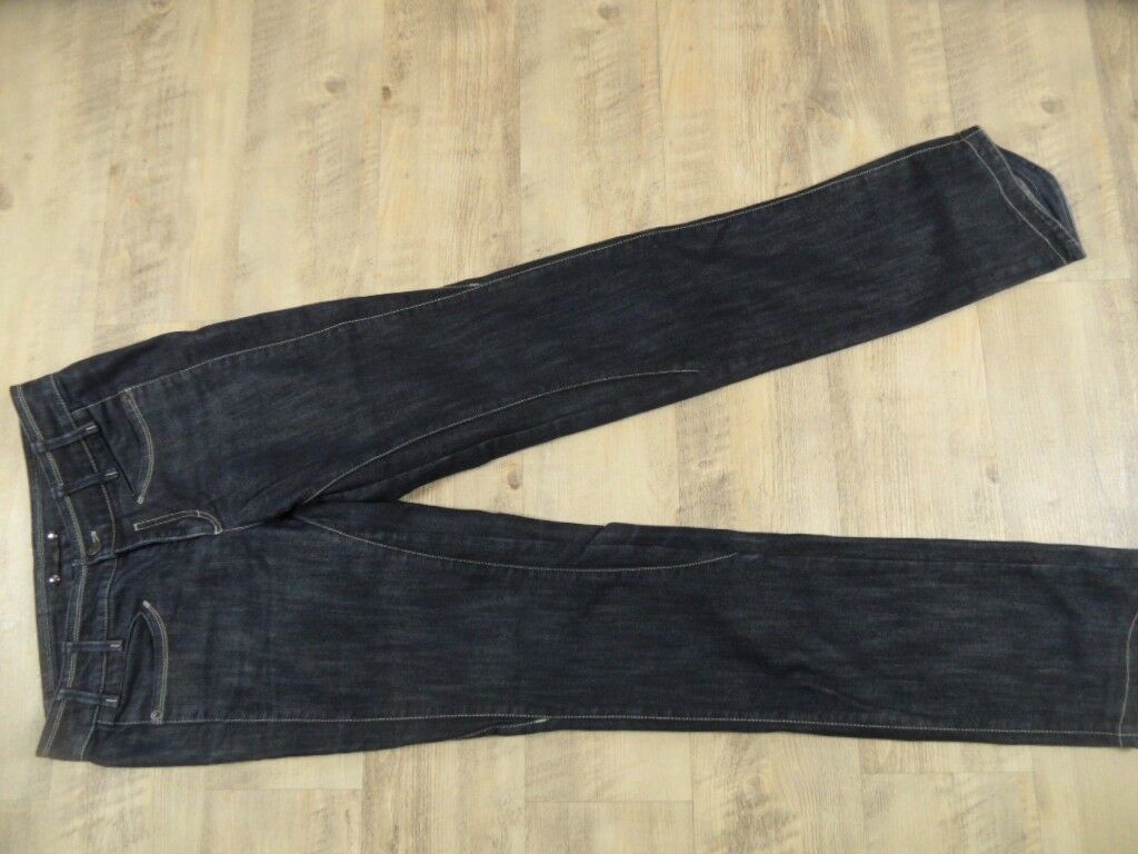 MARC CAIN tolle dunkle straight Jeans Gr. N2 TOP BI1217