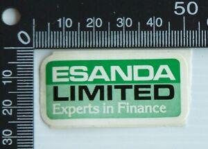 VINTAGE-ESANDA-LIMITED-FINANCE-AUSTRALIA-SOUVENIR-ADVERTISING-PROMO-STICKER