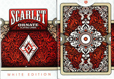 Saffire Ornate Playing Cards HOPC Emerald and Scarlet first edition. Amethyst