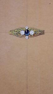 DESPRES Dessin original GOUACHE Bague or 4 diamants pierre bleue ART DECO 1930 XkrHV8tb-08023115-856260436