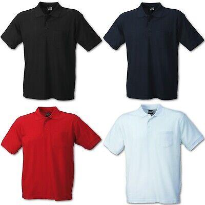 Herren Sport PoloshirtJames /& Nicholson Sportshirt Performance Polo Atmungsaktiv