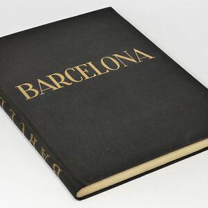 Barcelona-1920s-Photo-Book-w-220-gravures-Map-Rambla-Marina-Spain-by-Weber