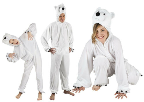 Ours polaire costume overall peluche animal Ours polaire Costume Fête Ours Ours polaire overall ours
