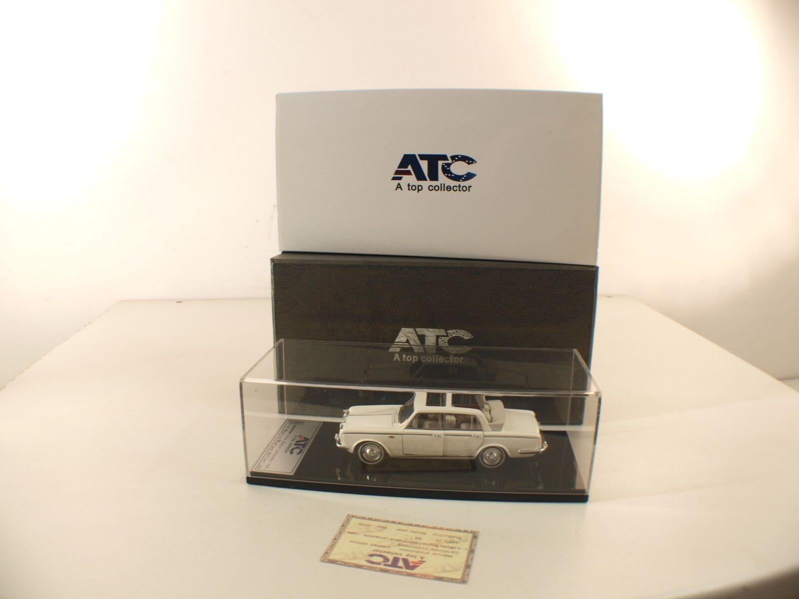 Atc Modello Collectibles - 1966 Modellino Rolls Royce Argento Tonalità -