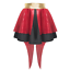 WOMENS The GREATEST SHOWMAN COSTUME Sequin Ringleader Tails Skirt THIS IS ME