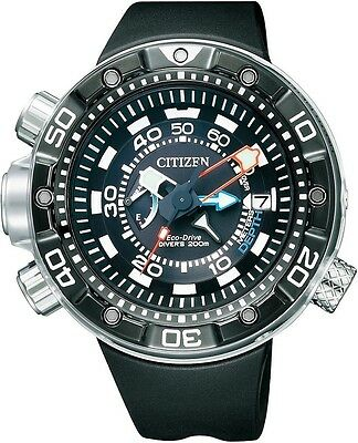 Citizen Promaster Aqualand DLC ISO 200m Japan Divers Watch BN2029-01E BN2024-05E