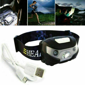 USB-Sensor-Head-Light-Torch-Headlamp-Headlight-Lamp-Rechargeable-Lumens-New