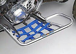Suzuki LTR450 LTR 450 Quadracer Nerfbars Atv Nerf Bars Silver Bars//Blue Nets