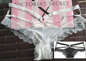9157bc1033d2 VICTORIA'S SECRET VERY SEXY Strappy Cutout Ring M L XL Cheeky Panty ...